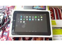 """10.1"""" Hansspad hanspree android tablet 16GB, 4.4.2, dualcam"""