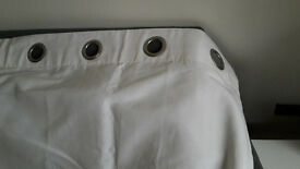 White Curtains in excellent condition