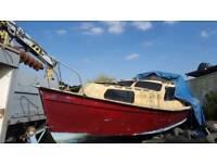 26ft Baroncradt Handmade boat