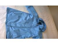 REGATTA Womens Outdoor Coat BLUE Showerproof Jacket with HOOD Size S - 10