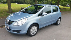 07 vauxhall CORSA 5 door ,very clean and pretty colour