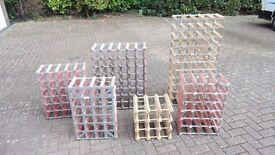 Wine Racks various sizes