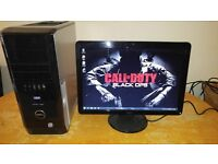 "Dell XPS - CALL OF DUTY BLACK OPS- Gaming Desktop Computer PC With Dell 21"" SAVE 30"