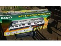 Casio key lightening LK-55 Keyboard and adapter