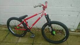 """NS Bikes Suburban 24"""" jump/Park bike"""