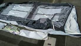 Corsican by pyramid awning in very good condition size 9.75m Can deliver or post