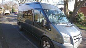2008 Ford Transit 110 T280 MWB MHR Panel Van/Part Camper Conversion