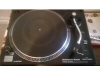 direct drive turntable record player
