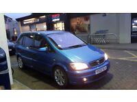 Vauxhall zafira GSI in arden blue