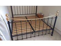 Super King Size Bed Frame - Black Satin Selkirk