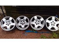 Landrover alloys for sale