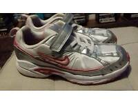 Girls Nike Trainers size 2