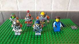 Lego Nexo knights complete set of knights plus the Queen.