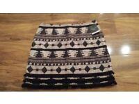 BNWT Top shop skirt size 14 Tall