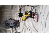 Mega drive and digimon ps1 controllers