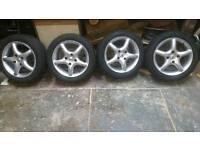 4 195/50/15 tyres on alloy wheels