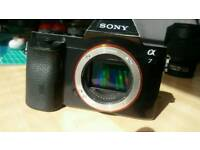 Sony A7 Full Frame camera with 28-70mm kit lens