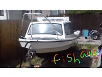 Up for sale is my dejon 13 foot fishing boat