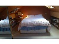 Student bedroom and seperate study to rent near bangor and menai bridge