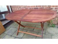 BillyOh Windsor Garden Wooden Table - 1.4m Oval Folding