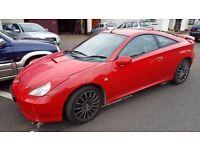 L@@K Toyota Celica 190Bhp VVTi 6 Speed **12 MONTHS MOT**Leather**Alloys**Head Turner £895!!!