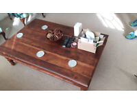 Lovely large, low coffee table