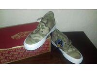 Brand New in Box Vans Chukka Camouflage 6.5