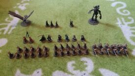 Games workshop lord of the rings models for sale.