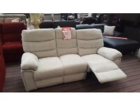 3 seat and 2 seat reclining sofas