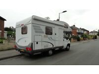 hymer 2007 4 berth 2.8jtd in good condition