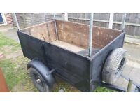 4x3 trailer in very good condition