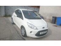 Bargain! Ford KA 2011 (61) 1.2 Studio,3dr,£30 Road Tax, 12 Months MOT, Serviced @ 37k!. Low Miles!.