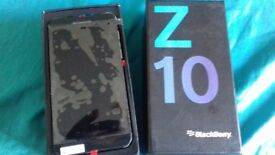 BRAND NEW BLACKBERRY Z10 IN BLACK 16GB UNLOCKED TO ALL NETWORK