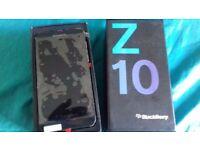 BRAND NEW BLACKBERRY Z10 IN BLACK 16GB UNLOCKED TO ALL NETWORK