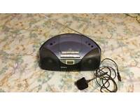Sony CD Radio Cassette