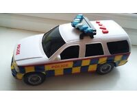 Multi-function police car – great toy, moves and talks