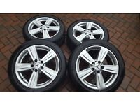 MERCEDES E CLASS W212 WINTER TYRES AND WHEELS