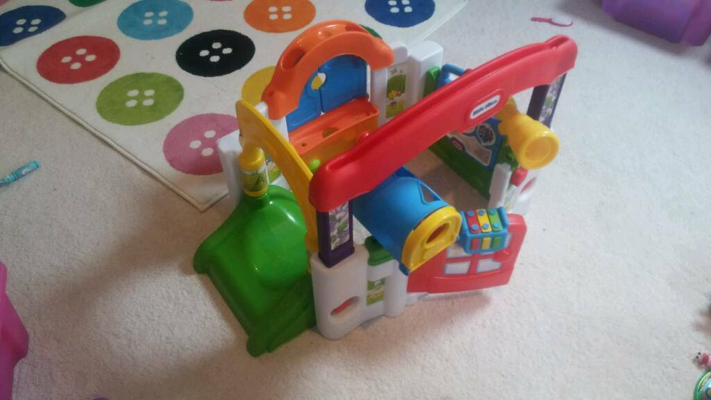 Little tikes activity gardenin County AntrimGumtree - Activity station with all parts complete. As good as new. Very lightly used