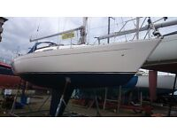 SIGMA 292 IDEAL FOR FAST CRUISING OR CLUB RACING RECENT BETA 16HP DIESEL £14500