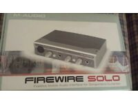 M-audio Firewire Solo audio interface