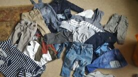 Boys baby clothing 30 piece bundle of 3-6 and 6-9 months. Good condition.