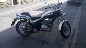 Gilera Cougar 125 Classic Italian Motor Bike