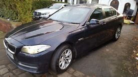 BMW 5 SERIES 2.0D SE 4DR. 1 Owner. BMW Service. History. Sat Nav. Leather Seats. £30 Tax