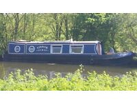 36 ft narrowboat 1991