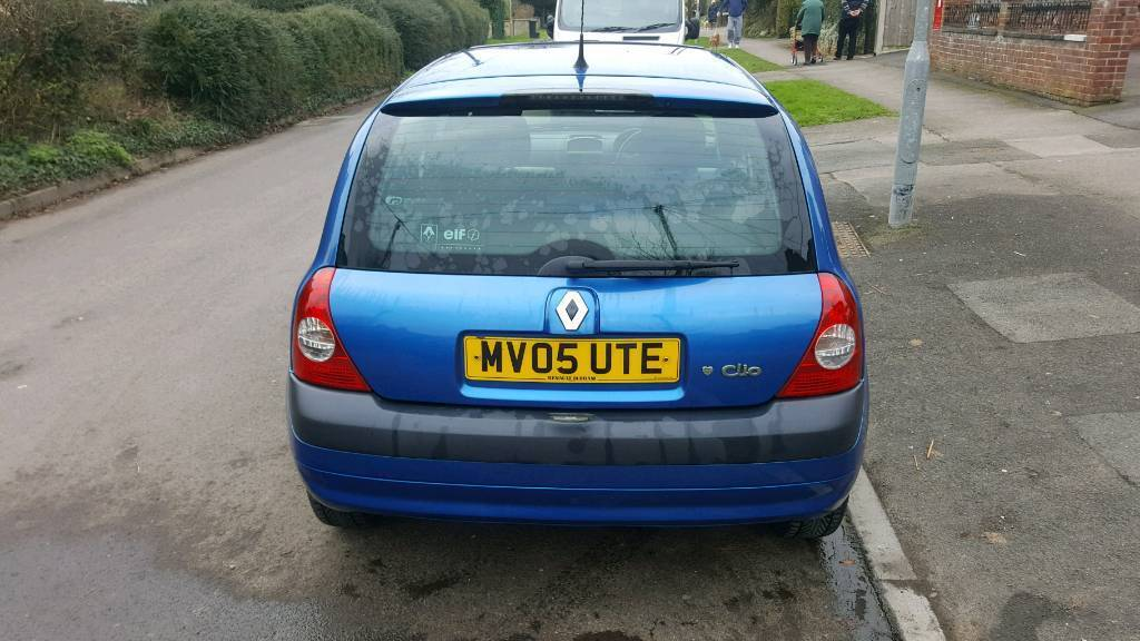 Renault Clio dynamique 1.4 16v 3dr petrol
