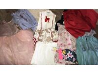 Designer n bundle of cloths age 8/9/10 juicy couture gap next Mariana's Salisbury's tu.some new