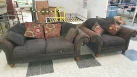 quality large sofa and snuggle chair