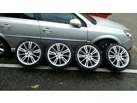BMW MV3 Alloys 225/40/18 front, 255/35/18 rear
