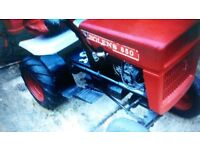 tractor bolens 850 and small trailer ready to use on farms or go to export