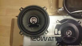*** BRAND NEW BARGAIN CAR FUI SPEAKERS 120 WATTS 5.25 '' 2 SPEAKERS ***